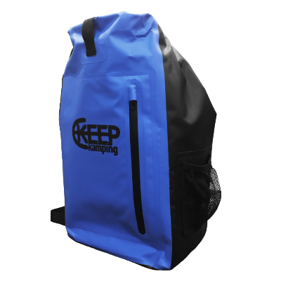 KEEP KAMPING WATERPROOF BACKPACK